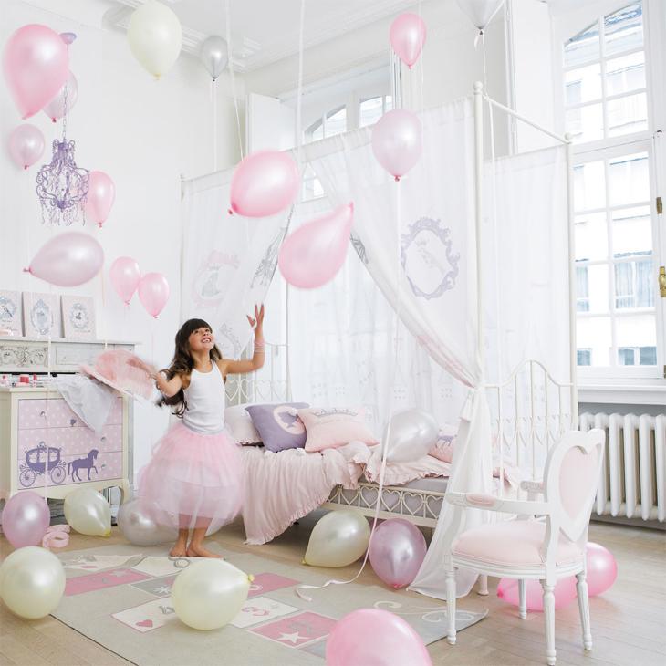 Chambre de princesse comme Cendrillon (avant minuit !)