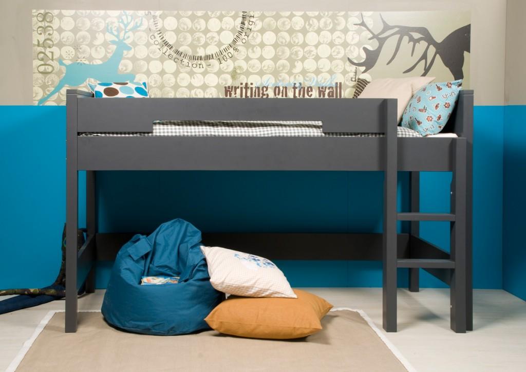 Mon enfant veut dormir dans un lit sur lev - Lit en hauteur 1 place ...