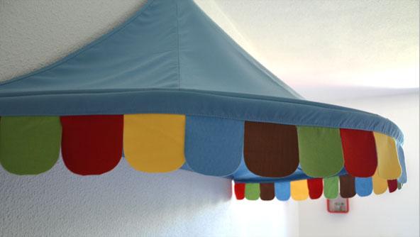 La chambre de lucas journal des mamans com - Ikea ciel de lit ...